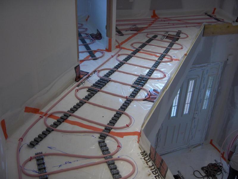 Jc 39 s website construire - Dalle beton chauffante ...